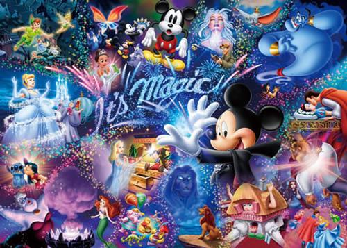 Tenyo Japan Jigsaw Puzzle D-1000-384 Disney It's Magic! (1000 Pieces)