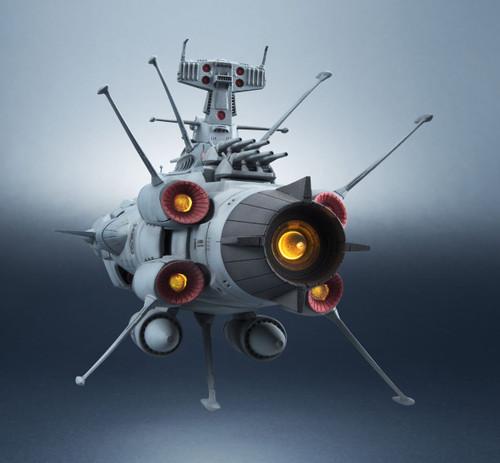 Bandai 192510 Kikan Taizen Space Battleship Yamato Earth Defence Force Andromeda Class 1st Battleship Figure