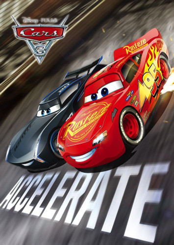 Tenyo Japan Jigsaw Puzzle D-300-291 Disney Cars 3 McQueen & Storm (300 Pieces)