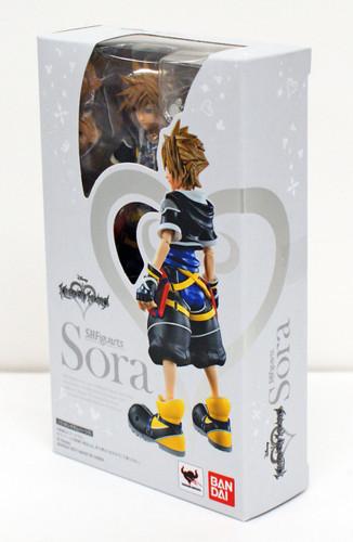 Bandai 161110 S.H. Figuarts Kingdom Hearts II Sora Action Figure
