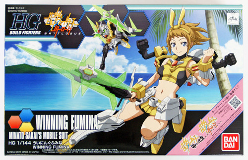 Bandai HG Build Fighters 062 WINNING FUMINA 1/144 Scale Kit