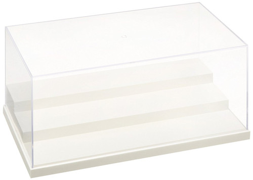Wave Materials TC036 Plastic Clear Case for Display Models T-Case Stage Milky White L