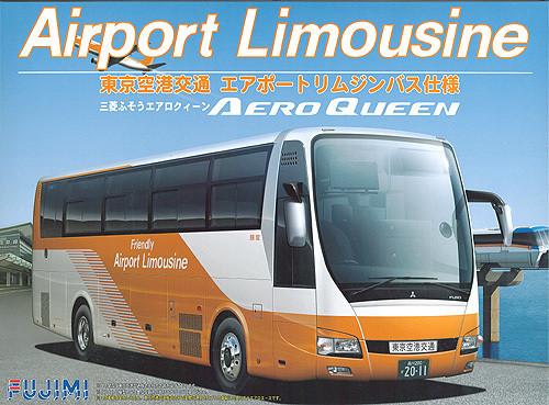 Fujimi BUS18 Mitsubishi Aero Queen Tokyo Airport Limousine Bus 1/32 Scale Kit