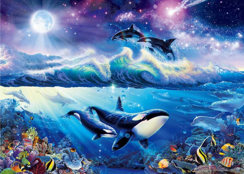 Epoch Jigsaw Puzzle 54-706 Lassen Beat of the Sea (2000 S-Pieces)
