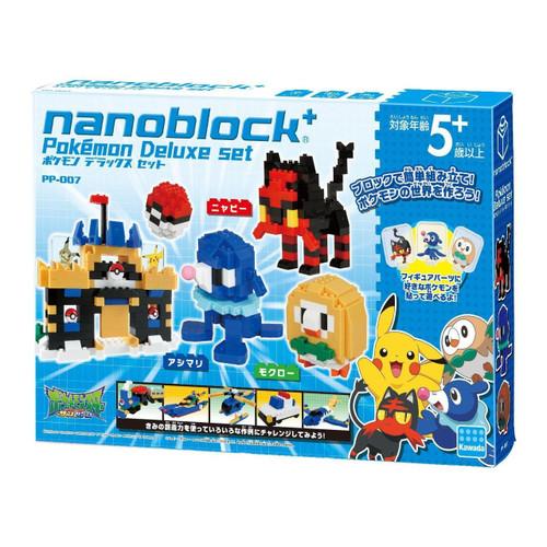Kawada PP-007 nanoblock plus Pokemon Deluxe Set