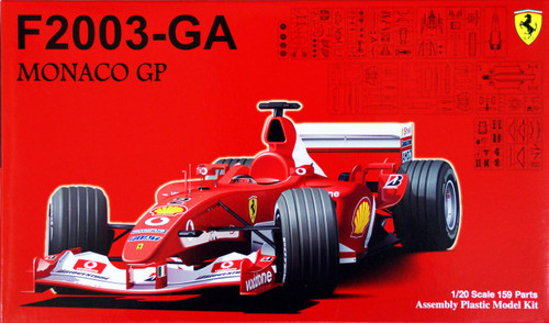 Fujimi GP33 090887 F1 Ferrari F2003-GA Monaco GP 1/20 Scale Kit