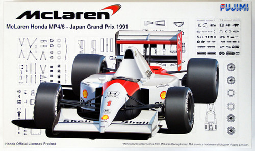 Fujimi GP SP7 090511 F1 McLaren MP4/6 1991 Japan GP 1/20 Scale Kit
