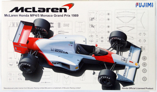 Fujimi GP SP14 090719 F1 McLaren MP4/5 Monaco GP 1/20 Scale Kit