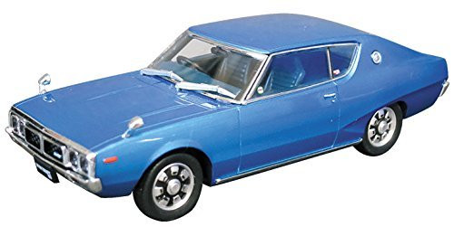 Aoshima DISM 80429 Nissan Skyline HT 2000GT Blue Metallic 1/43 scale kit