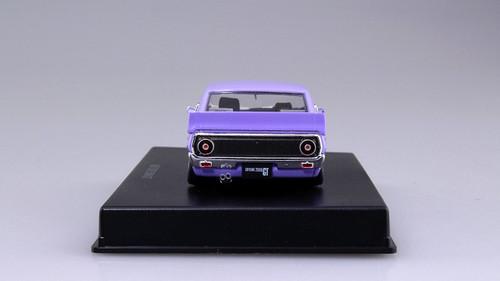 Aoshima DISM 80474 Nissan Skyline Custom Style Purple 1/43 scale model