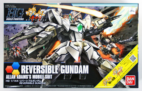 Bandai HG Build Fighters 063 REVERSIBLE GUNDAM 1/144 scale kit