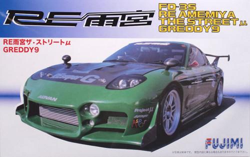 Fujimi ID-153 Mazda RX-7 RE Amemiya GReedy6 1/24 Scale Kit 038315