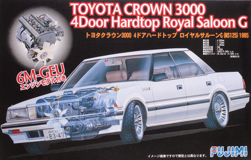 Fujimi ID-155 Toyota Crown 3000 Royal Saloon G 1/24 Scale Kit