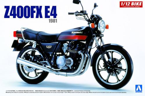 Aoshima 54291 Bike 46 KAWASAKI Z400FX E4 1/12 scale kit