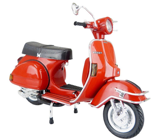 Aoshima Skynet 80764 Vespa P200E (1978/Red) 1/12 scale Finished Model