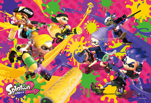 Ensky Jigsaw Puzzle 300-1195 Splatoon 2 (300 Pieces)