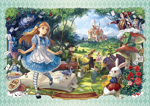 Epoch Jigsaw Puzzle 55-102 Art Alice in Wonderland (216 S-Pieces)