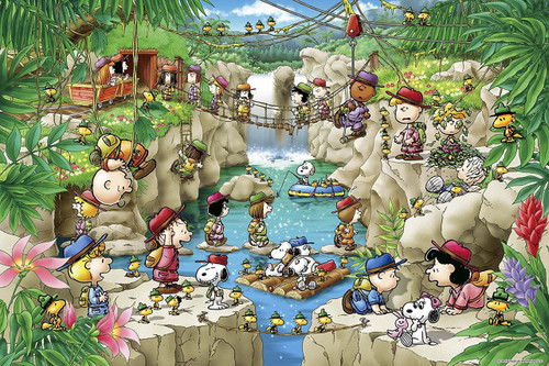 Epoch Jigsaw Puzzle 11-570s Peanuts Snoopy Summer Camp (1000 Pieces)