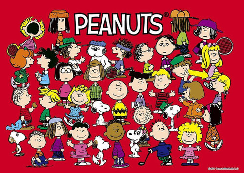 Epoch Jigsaw Puzzle 03-033 Peanuts Snoopy Friends Forever (108 Pieces)