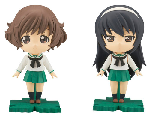 Bandai Petiture-Rise Girls Und Panzer Yukari, Mako Plastic Model Kit 176213
