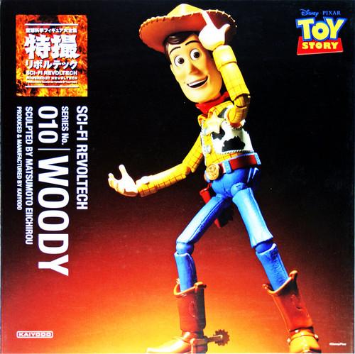 Kaiyodo Sci-Fi Revoltech 010 Toy Story Woody Figure
