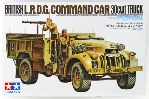 Tamiya 35092 British L.R.D.G Command Car 30cwt Truck