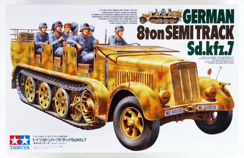 Tamiya 35148 German 8ton Semi Track Sd.Kfz.7 1/35 scale kit