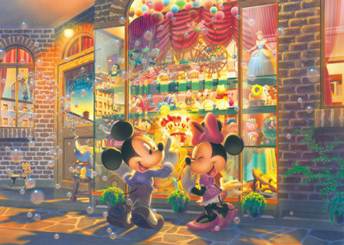 Tenyo Japan Jigsaw Puzzle D-108-703 Disney Mickey Mouse (108 Pieces)