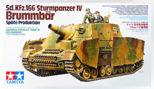 Tamiya 35353 German Assault Tank IV Brummbar Late Production 1/35