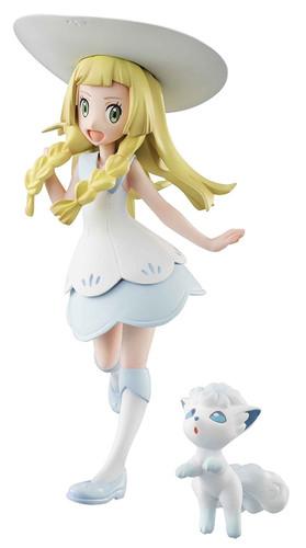 MegaHouse Pokemon Lillie & Snowy (Alola Vulpix) Figure