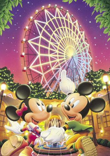 Tenyo Japan Jigsaw Puzzle D-108-960 Disney Mickey Mouse (108 Pieces)