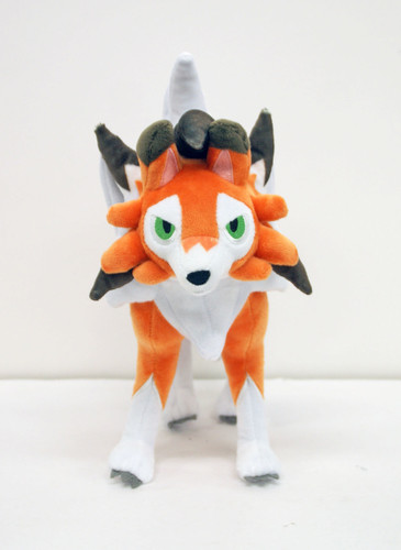 Pokemon Center Original Plush Doll Lycanroc (Dusk Form) (Lugarugan) 922-230689