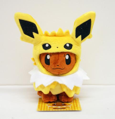 Pokemon Center Original Plush Doll Eevee Poncho Jolteon (Thunders)  1007-228266