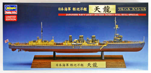 Hasegawa CH122 IJN Light Cruiser Tenryu Full Hull Special 1/700 scale kit