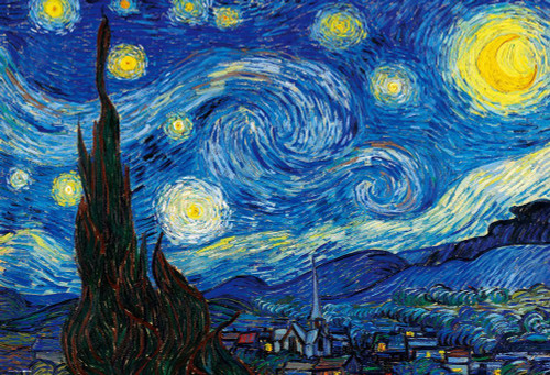 Beverly Jigsaw Puzzle M81-867 Vincent van Gogh The Starry Night (1000 S-Pieces)