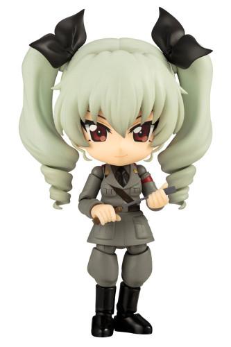 Kotobukiya AD053 Cu-poche Girls und Panzer der Film Anchovy Figure