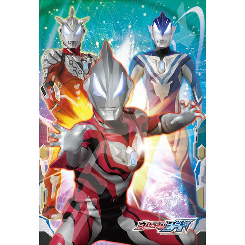 Ensky Jigsaw Puzzle 108-L593 Ultraman Geed (108 L-Pieces)