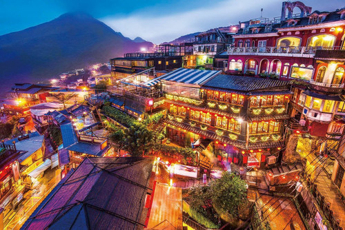 Epoch Jigsaw Puzzle 10-793 Beautiful Scenery Jiufen Taipei Taiwan (1000 Pieces)