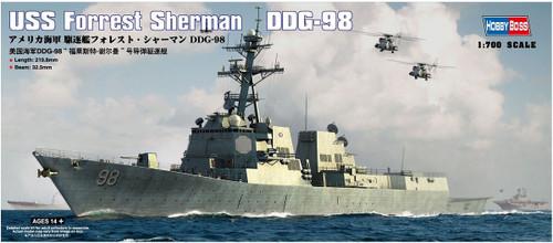 Doyusha 83414 USS Forrest Sherman DDG-98 1/700 Scale Plastic Kit