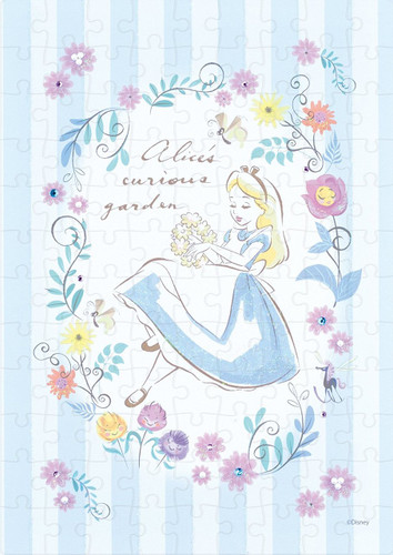Epoch Jigsaw Puzzle Decoration 72-007 Disney Alice in Wonderland (108 Pieces)