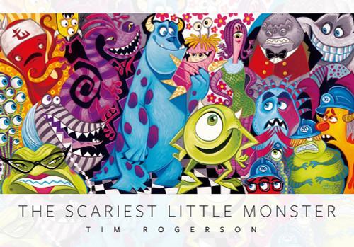 Tenyo Japan Jigsaw Puzzle D-1000-491 Disney Pixar Monsters, Inc. The Scariest Little Monster (1000 Pieces)