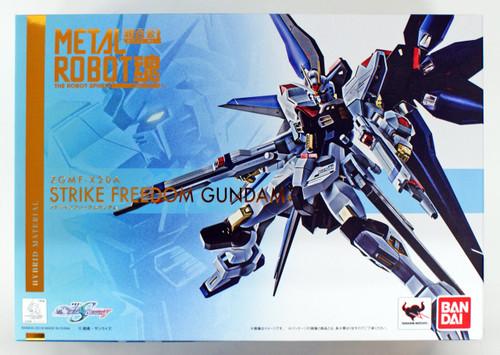 Bandai Metal Robot Tamashii Chogokin ZGMF-X20A Strike Freedom Gundam Figure