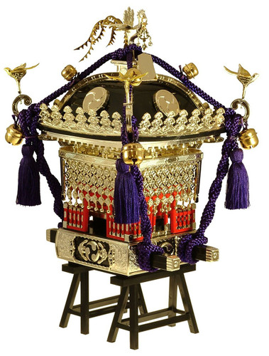 "Doyusha 150115 Japanese Edo ""Mikoshi"" Pre-painted (Black) 1/8 Scale Kit"