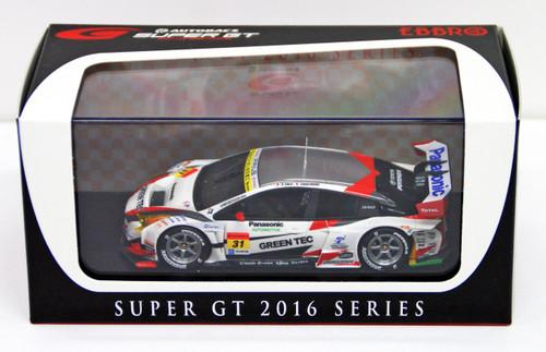 Ebbro 45411 TOYOTA PRIUS apr GT SUPER GT GT300 2016 No.31 1/43 scale