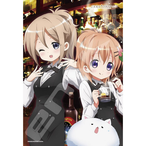 Ensky Jigsaw Puzzle 300-1187 Is the Order a Rabbit? Aoyama & Cocoa (300 Pieces)