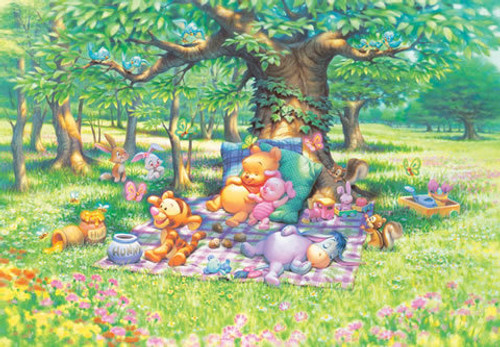 Tenyo Japan Jigsaw Puzzle D-300-204 Disney Winnie-the-Pooh (300 Pieces)