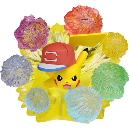 Takara Tomy Pokemon Moncolle Monster Collection EX EZW-06 Ash's Pikachu 10,000,000 Volt Thunderbolt