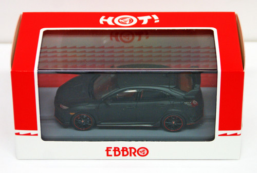 Ebbro 45571 Honda CIVIC Type R 2017 Prototype 1/43 Scale