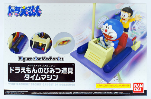 Bandai Figure-Rise Mechanics Doraemon 197560 Secret Gadget of Doraemon Time Machine Plastic Model Kit