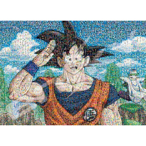 Ensky Jigsaw Puzzle 2000-110 Dragon Ball Z Mosaic Art Goku (2000 Pieces)